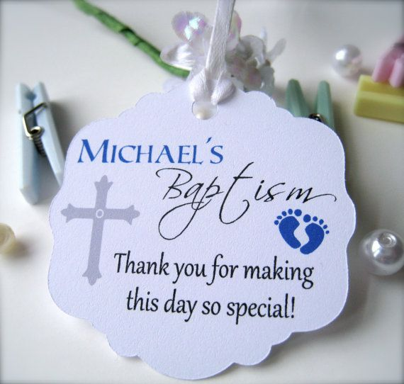 Best Baby Baptism Favor Tags Christening Favor Tags Baptism This Month