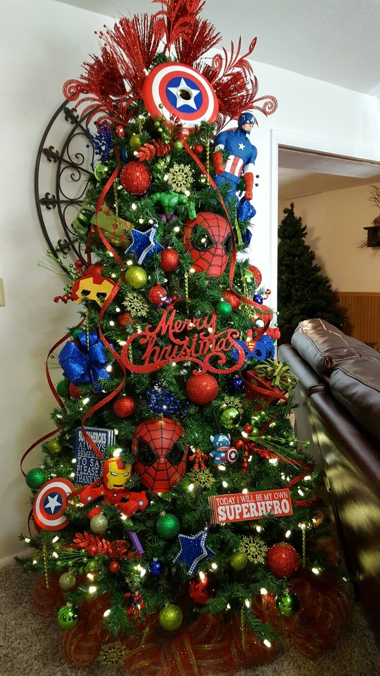Best Pin By Aysia Magill On Marvel Christmas Tree Diy This Month