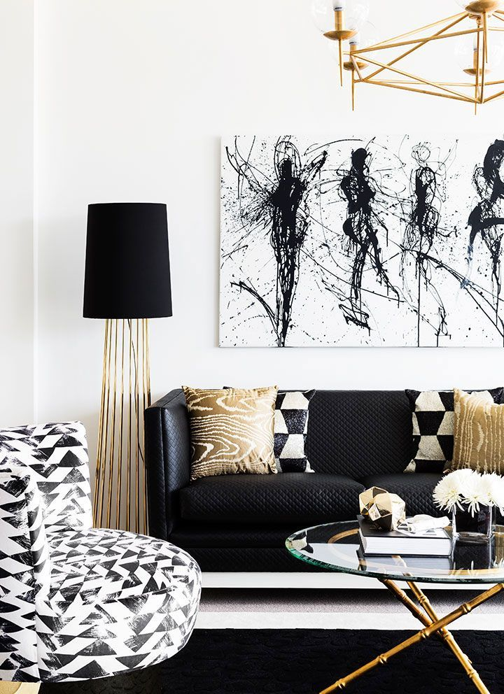 Best Harrold Park Residence Ditc White Black Decor In 2019 This Month