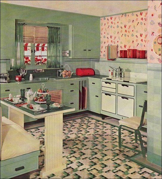 Best Fun Retro Ideas For A 50S Style Kitchen 50S Kitchen This Month