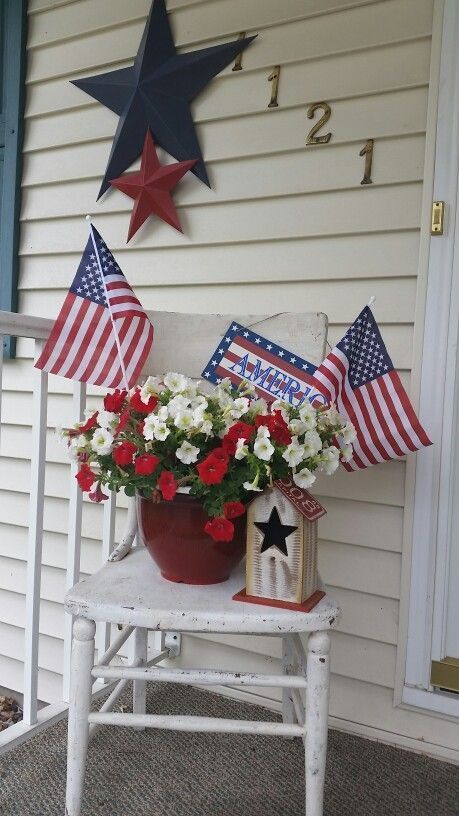 Best 24 Diy July 4Th Outdoor Decorations For Front Porches This Month