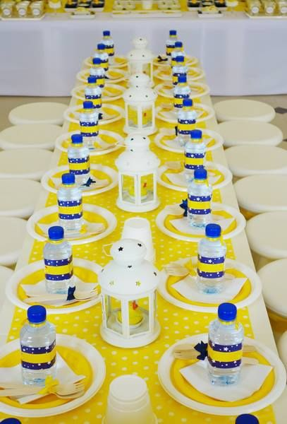 Best Yellow Rubber Duck Party Dessert Table Seating This Month