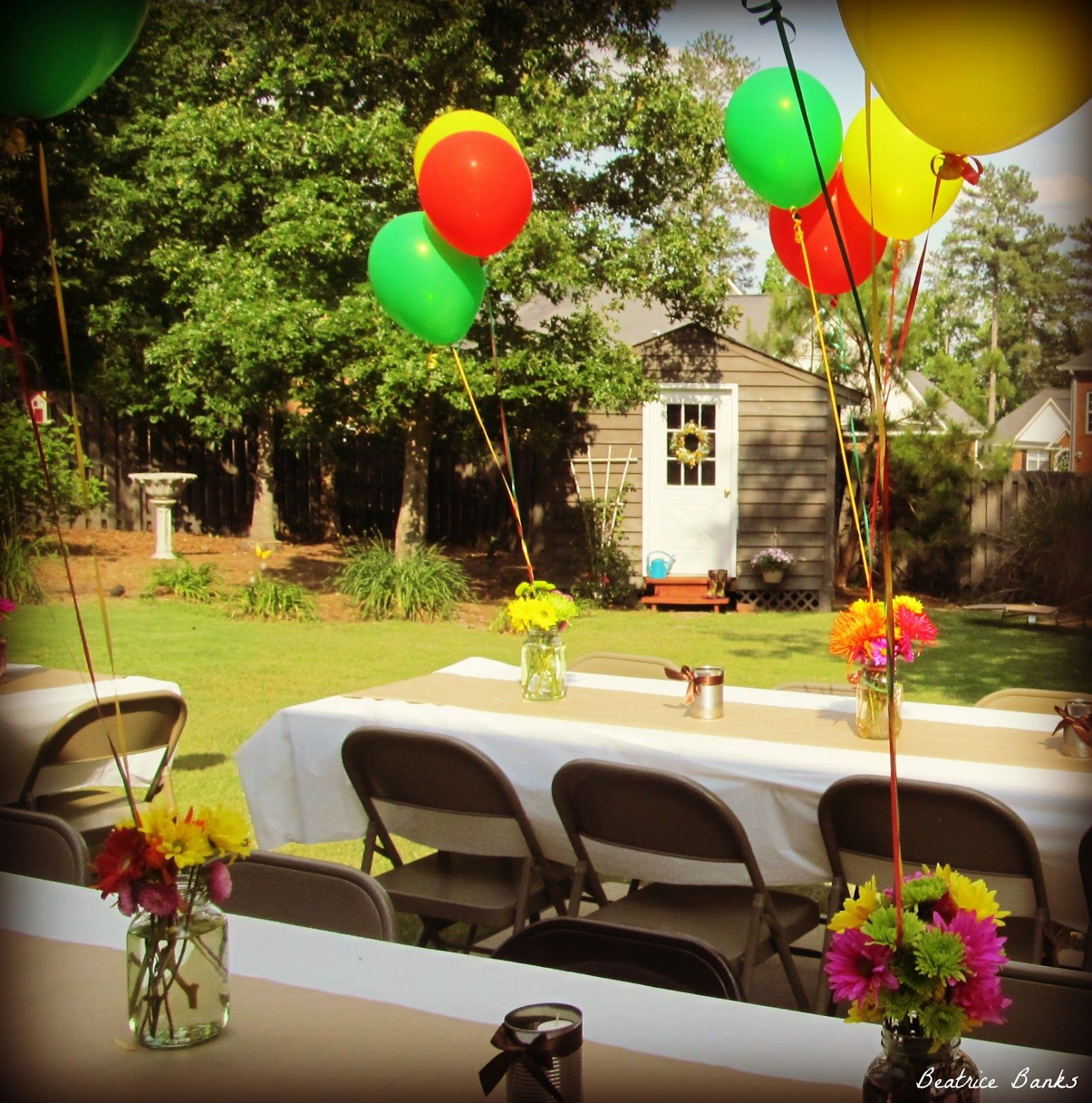 Best Backyard Graduation Party Beatrice Banks Party Time This Month