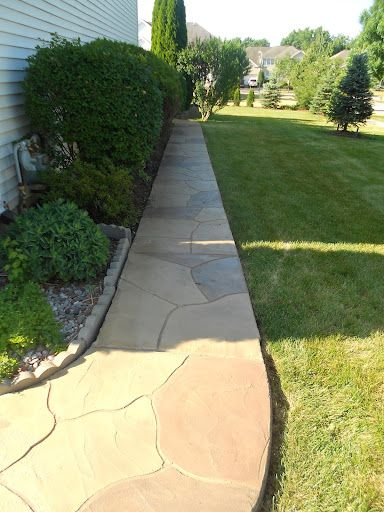 Best Flagstone Overlay With Caribou Brown Hightlights And Wash This Month