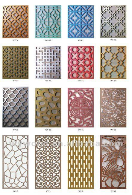 Best Indoor Decorative Fence Panel View Grille Panels Carving This Month