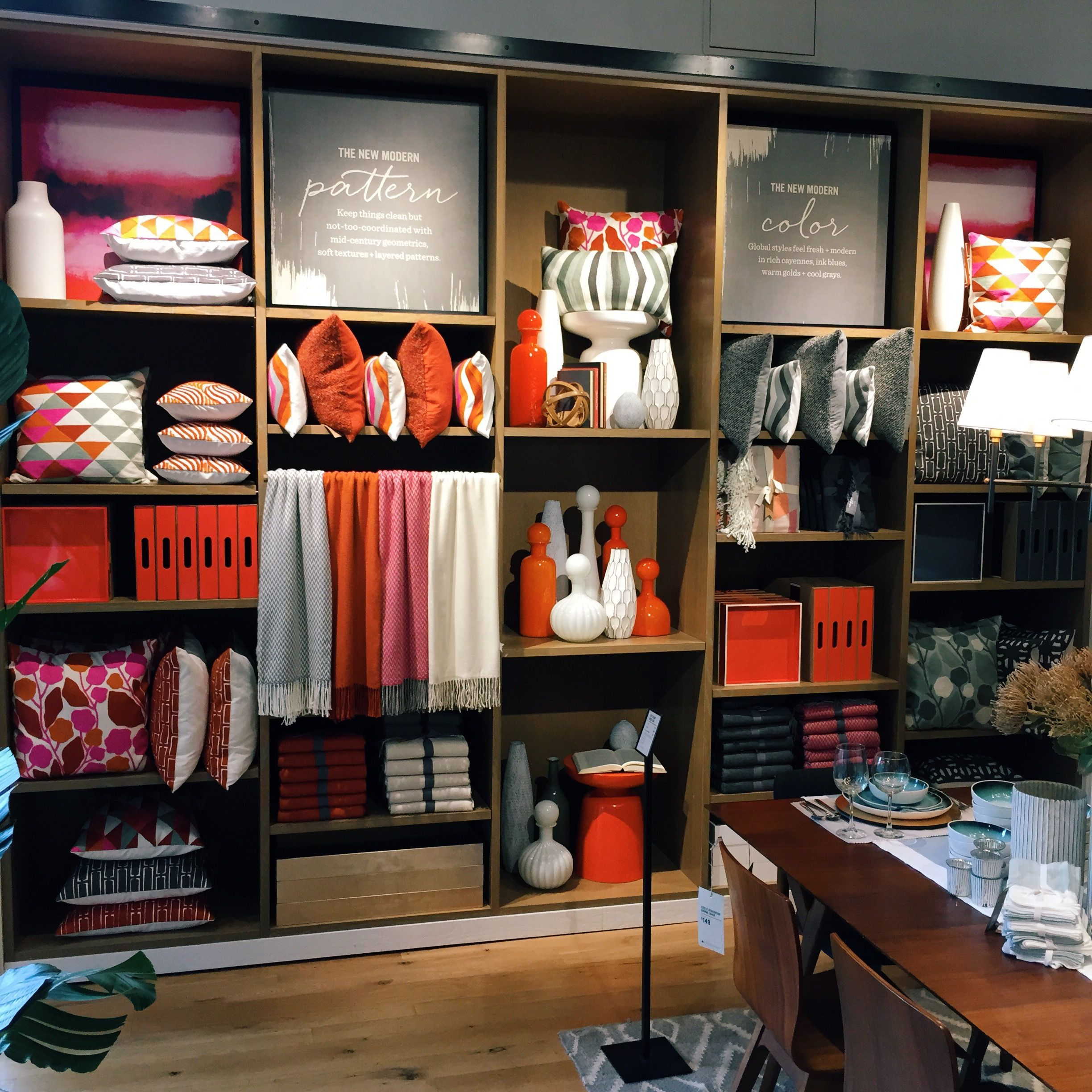 Best Store Visual Design And Merchandising Work At West Elm And This Month