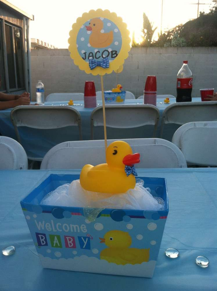 Best Rubber Duckies Baby Shower Party Ideas In 2019 Baby This Month