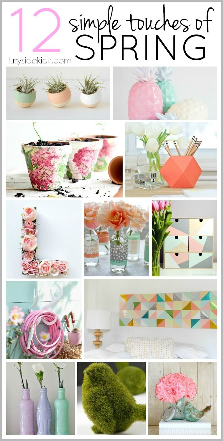 Best 12 Ways To Add A Simple Touch Of Spring Diy Crafts This Month