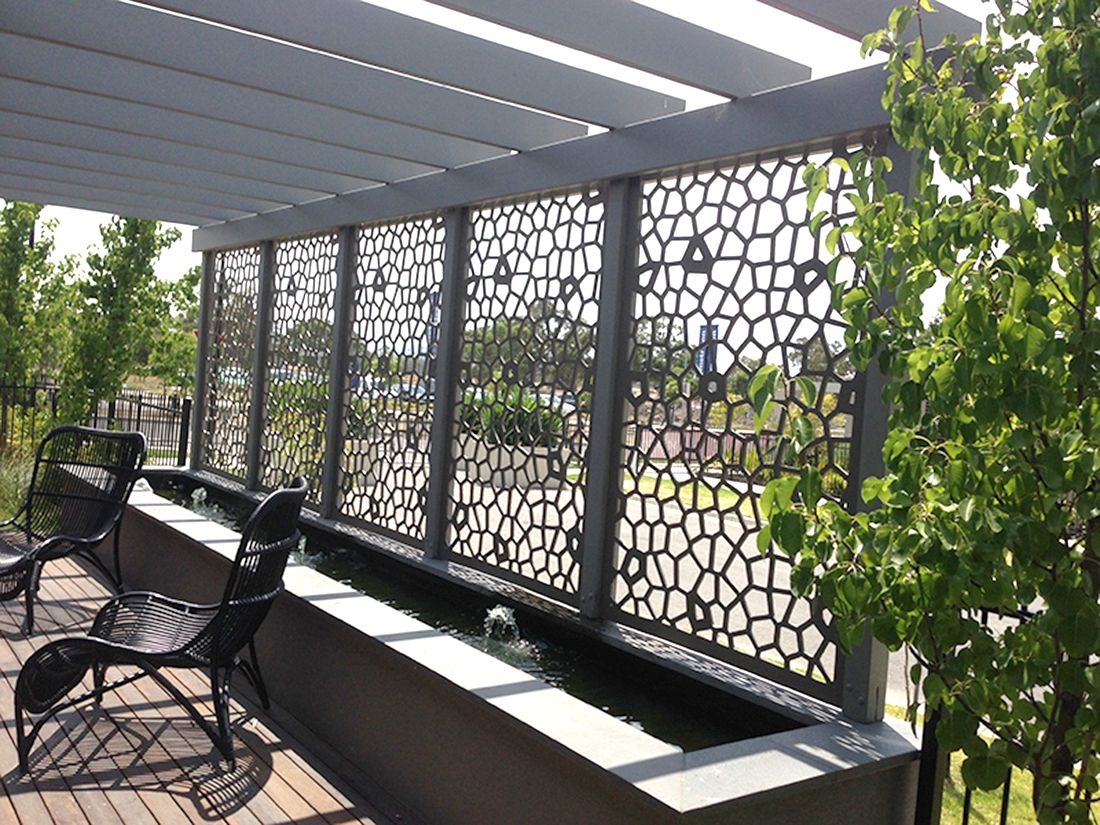 Best Decorative Screen Panels On The Opposite Fence To The This Month