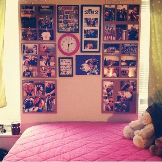 Best Dorm Wall Decor I Love The Idea Of Paper Behind The This Month