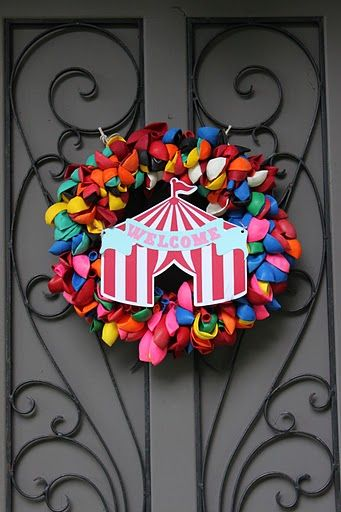 Best Under The Big Top Balloon Wreath Carnival Circus This Month