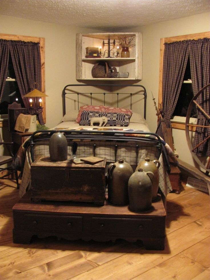 Best 31 Fabulous Country Bedroom Design Ideas Primitive This Month