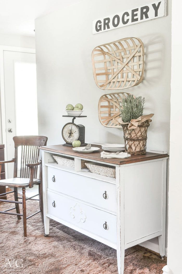 Best Dining Room Sideboard Made From Antique Dresser Anderson This Month