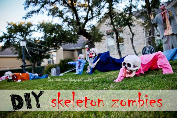 Best Yard Decorations For Halloween Skeleton Zombies Invade This Month