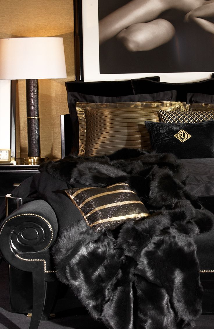 Best Black And Gold Bedding It S Been Done Before So Use This Month