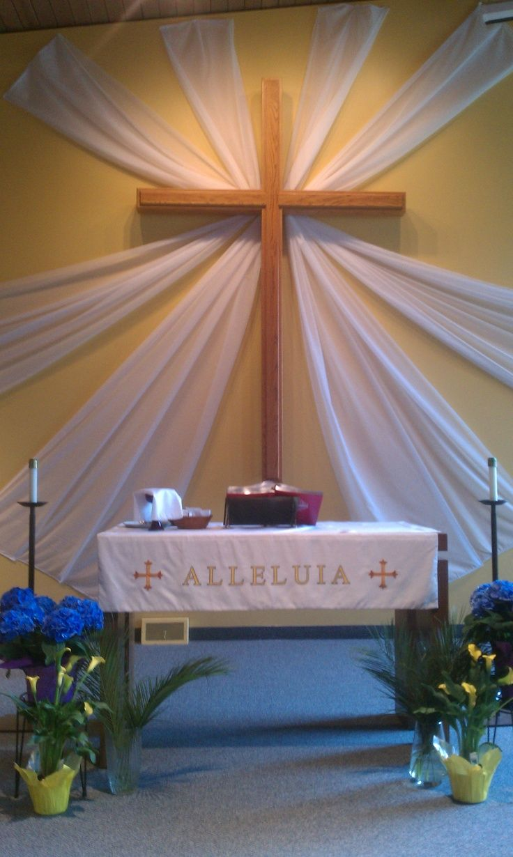 Best Altar Decoration For Easter Google Search Altar Ideas This Month