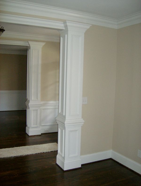 Best Square Wood Columns Interior Home Who We Are Remodeling This Month