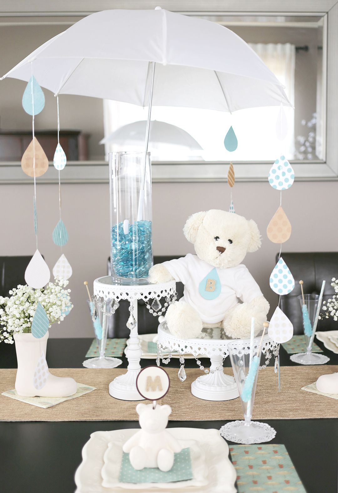 Best A Sweet Umbrella Themed Baby Shower Creative Things This Month