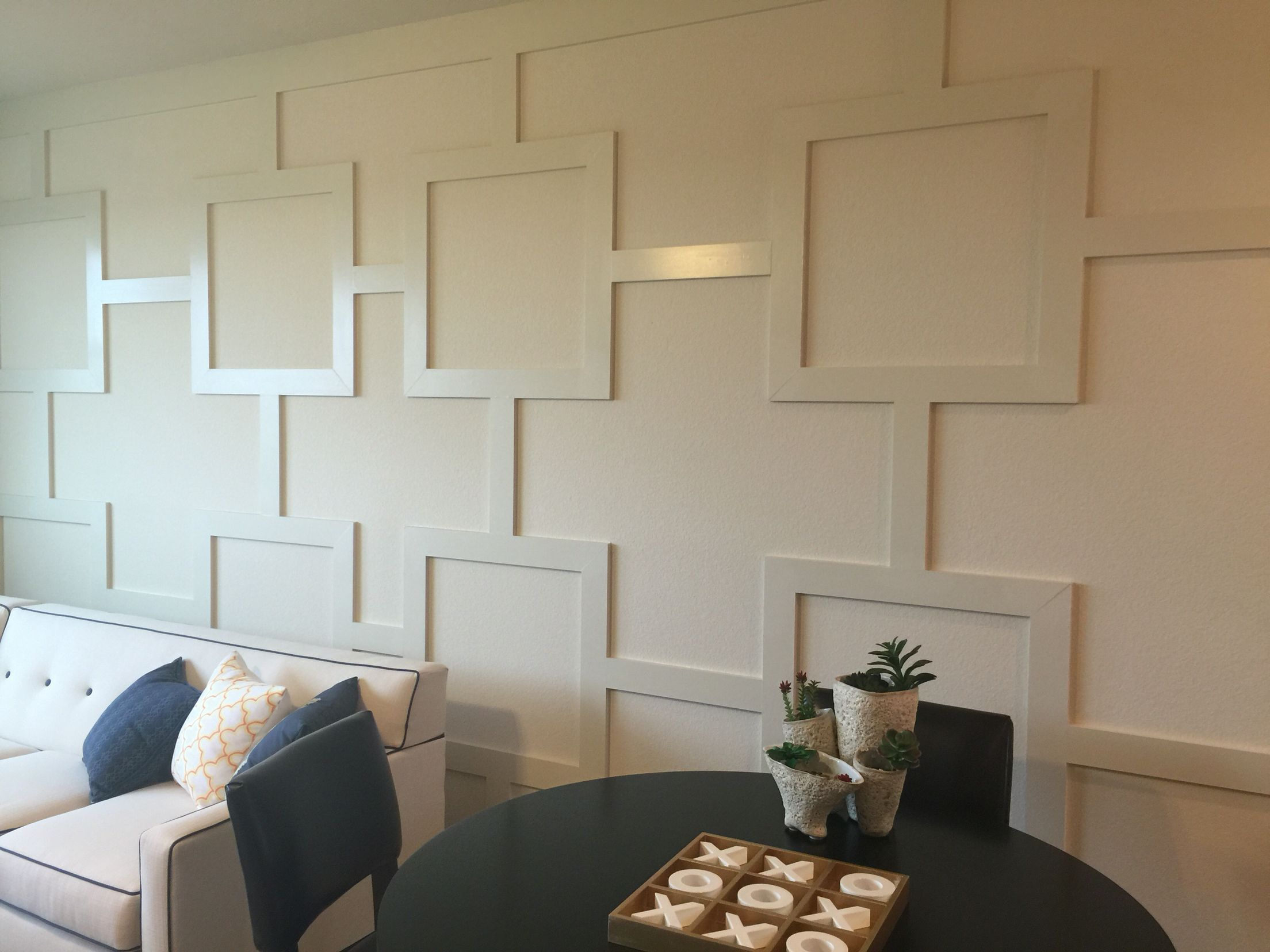 Best Wood Trim Design Accent Wall Simply Use 1X4 S To Add This This Month
