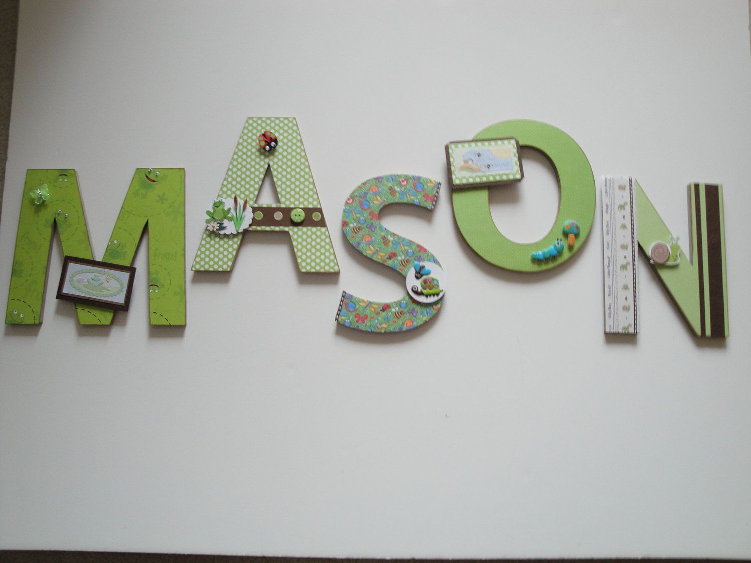Best Baby Nursery Letters Boys Room Decor Baby Shower Gift This Month