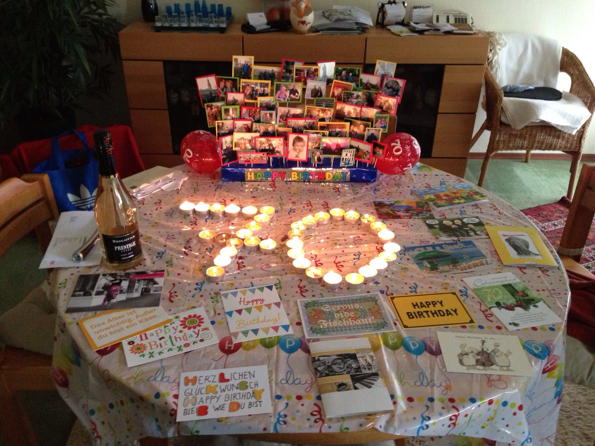 Best 70Th Birthday Decoration Dad S 70Th Birthday 70Th This Month