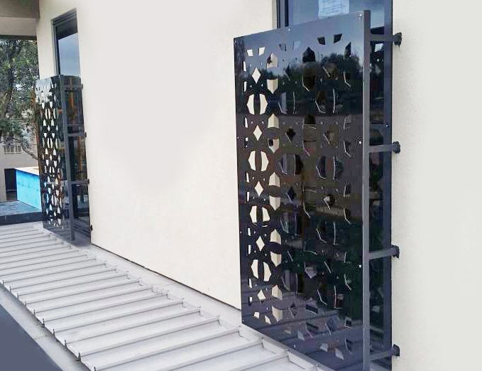Best Contemporary Window Covers Using Decorative Laser Cut In This Month