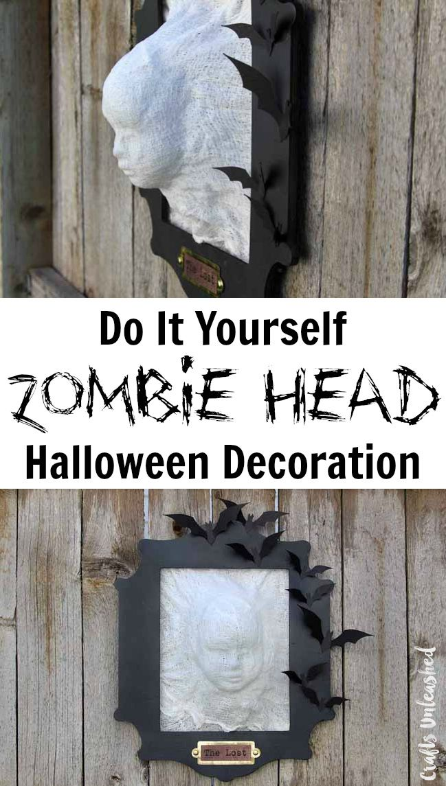 Best Diy Halloween Decoration Zombie Head Crafts Unleashed This Month