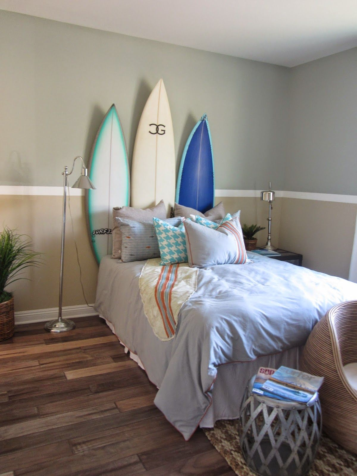 Best Surf Theme Bedroom Home Decor Interior Design Surf This Month