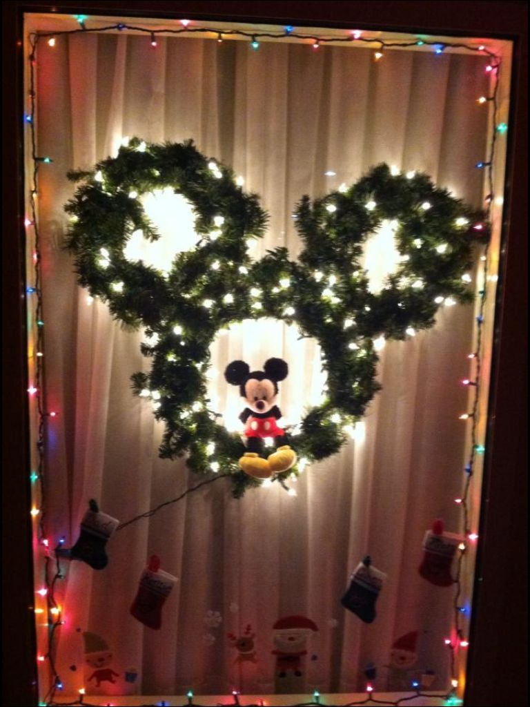 Best Our Hotel Room Window Decorated For Christmas At Disney This Month