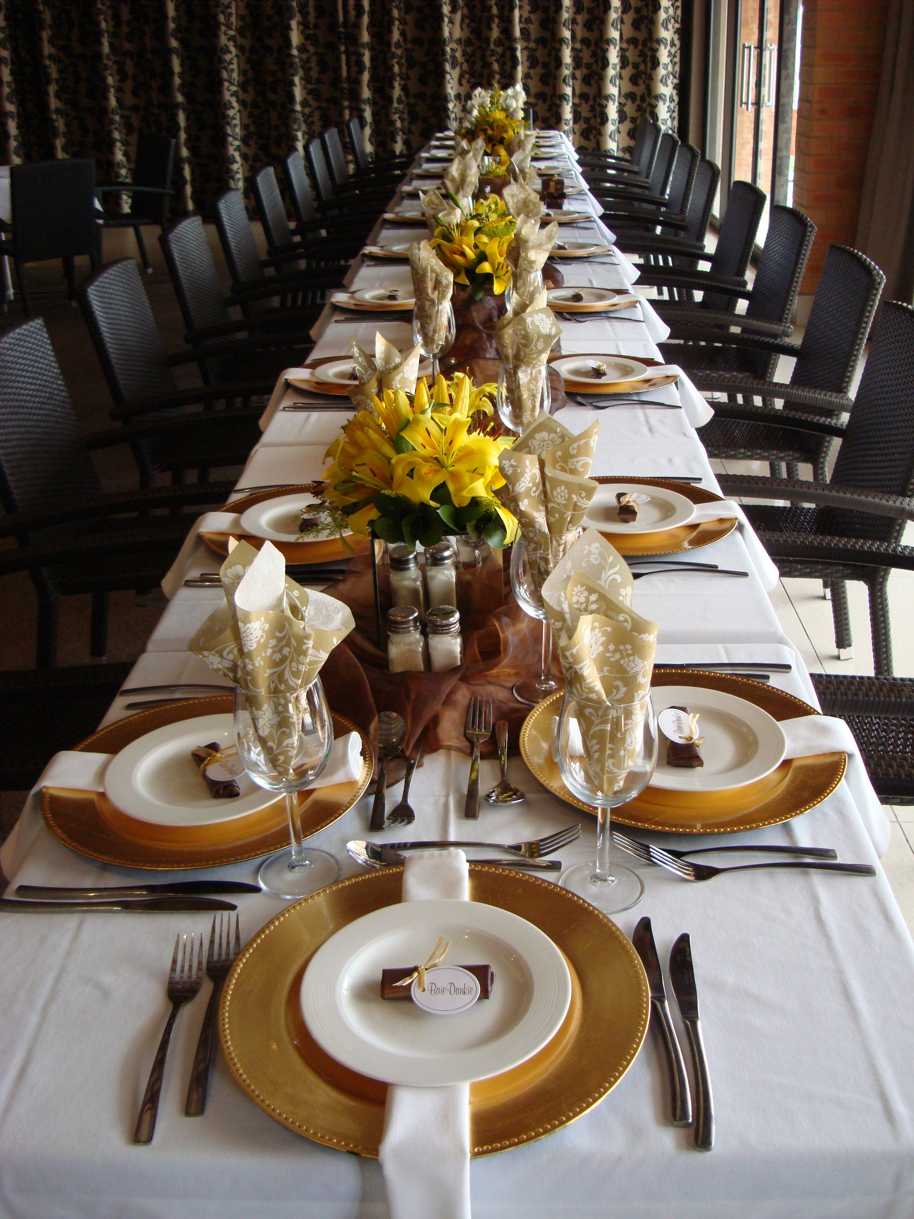 Best 70Th Birthday Party Special Event Table Settings 70Th This Month