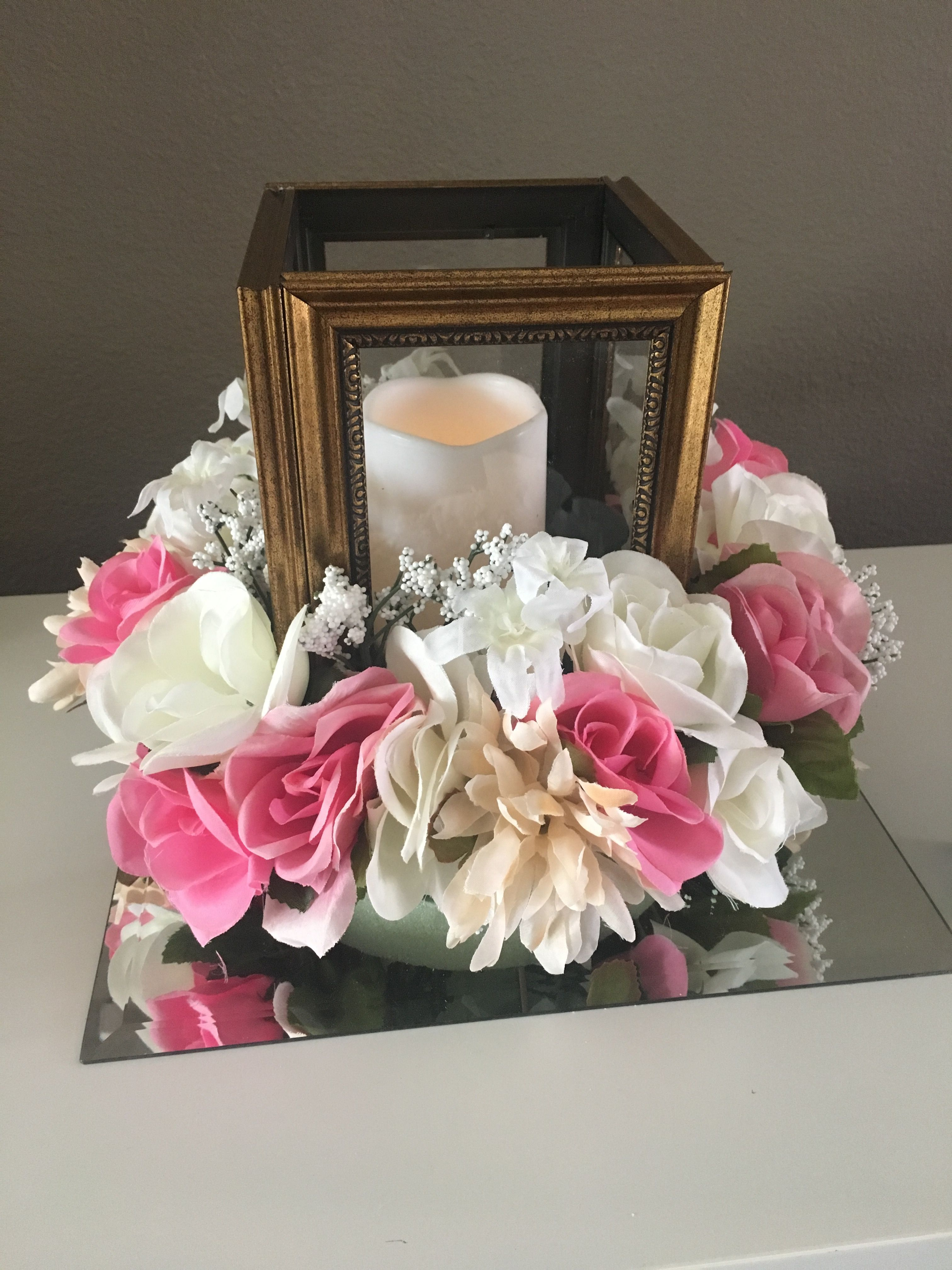 Best Diy From Dollar Tree Lantern Floral Centerpiece For This Month