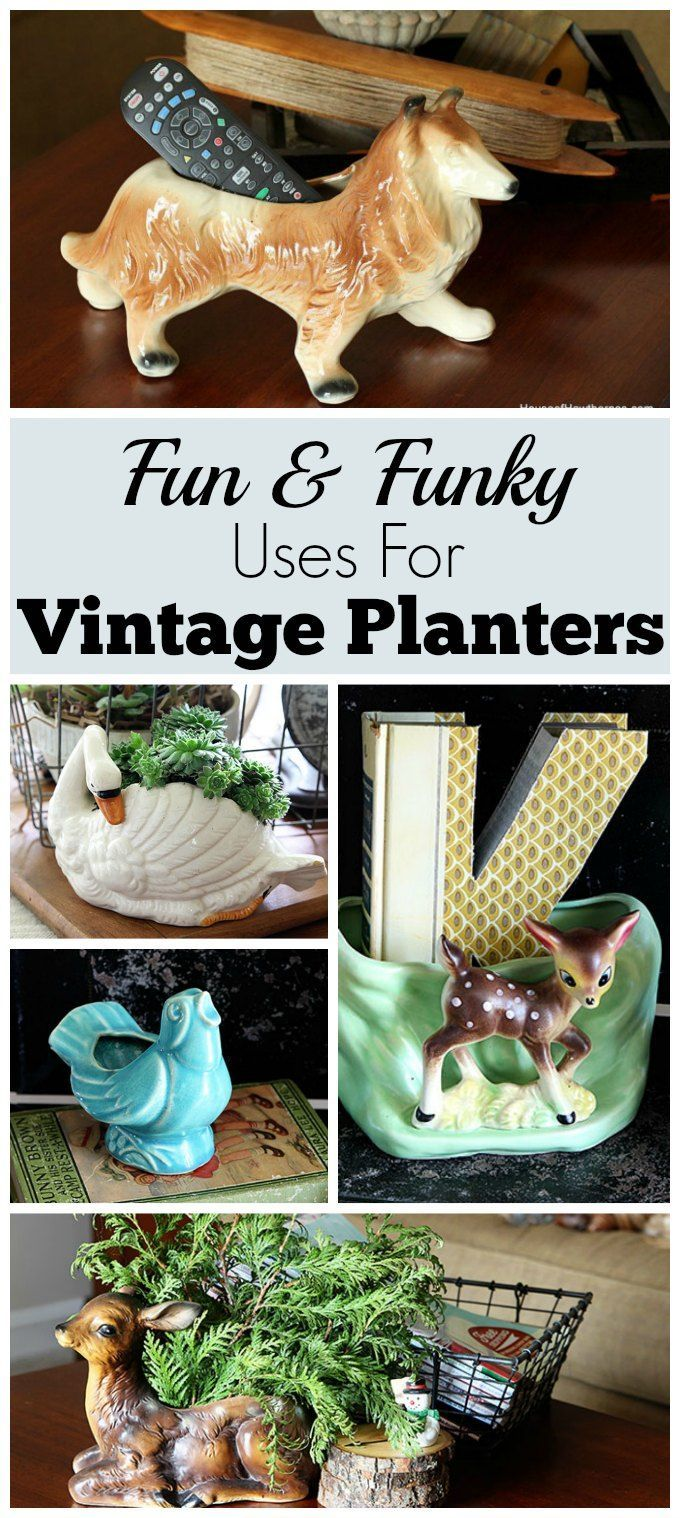 Best Alternative Uses For Vintage Planters Diy Home Decor This Month