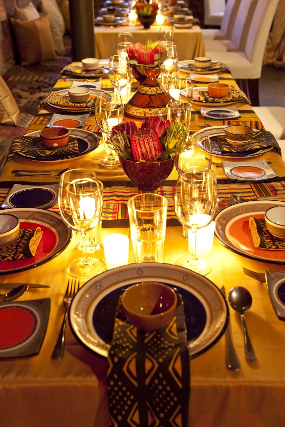 Best A Beautiful African Table Setting African Recipes This Month
