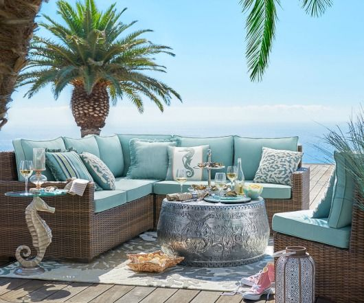 Best Outdoor Coastal Beach Decor For The Summer Beach House This Month