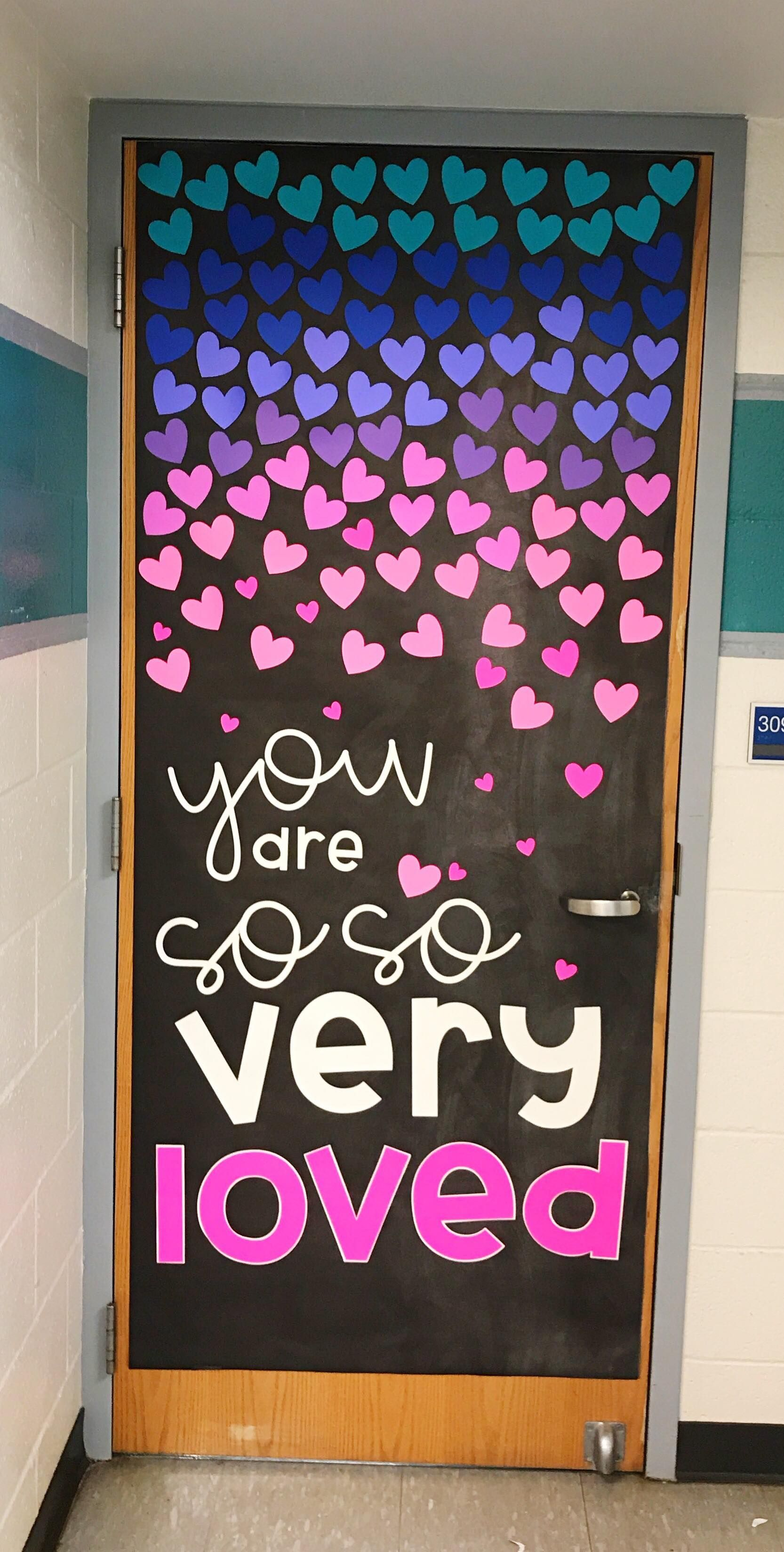 Best February Door Decoration Set Tpt Products Classroom This Month