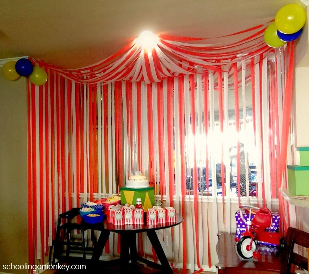 Best Circus Party Diy Circus Tent Party Ideas Circus Party This Month