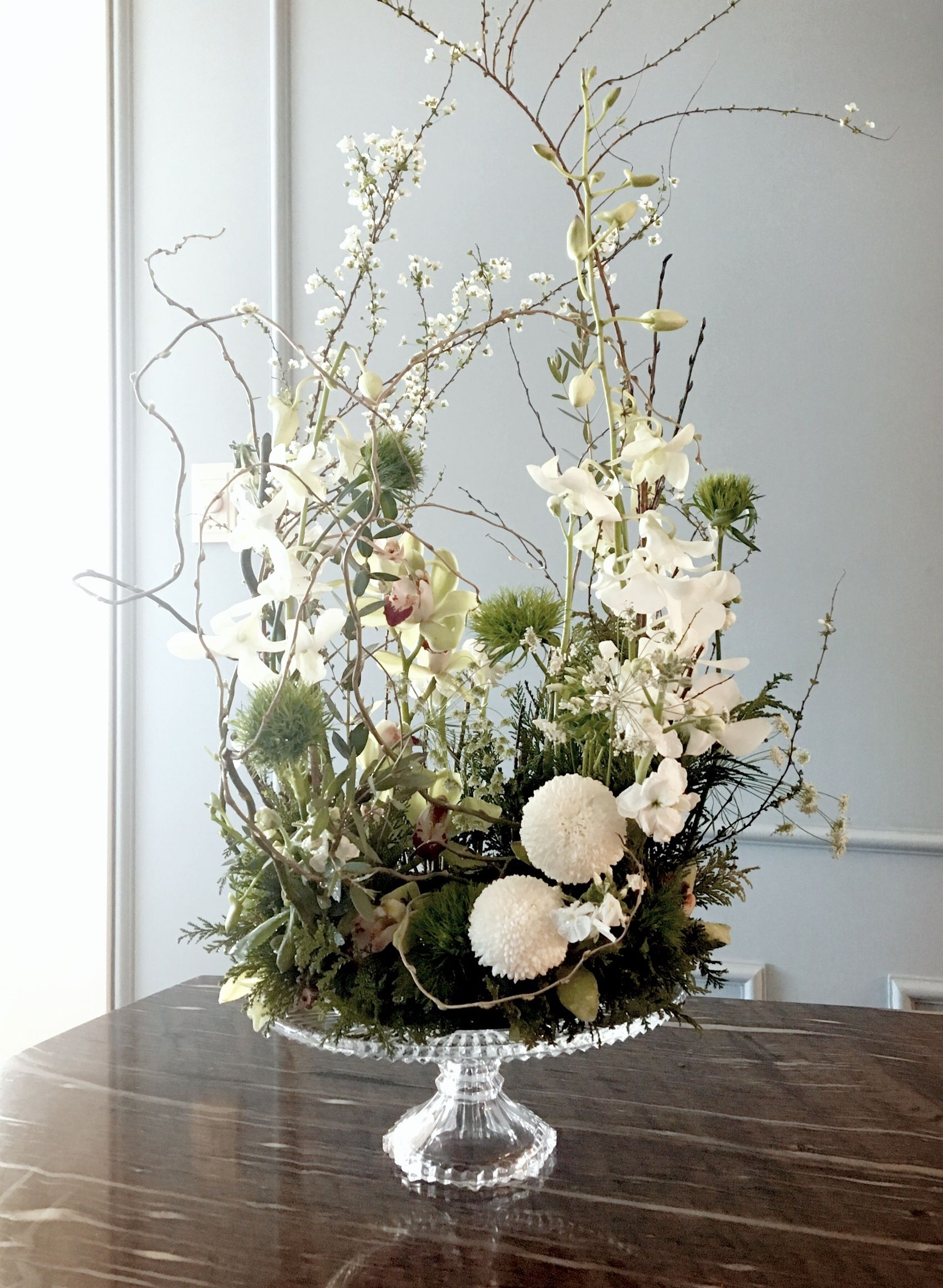 Best Cake Stand Arrangement Stuff I Love Floral Inspiration This Month