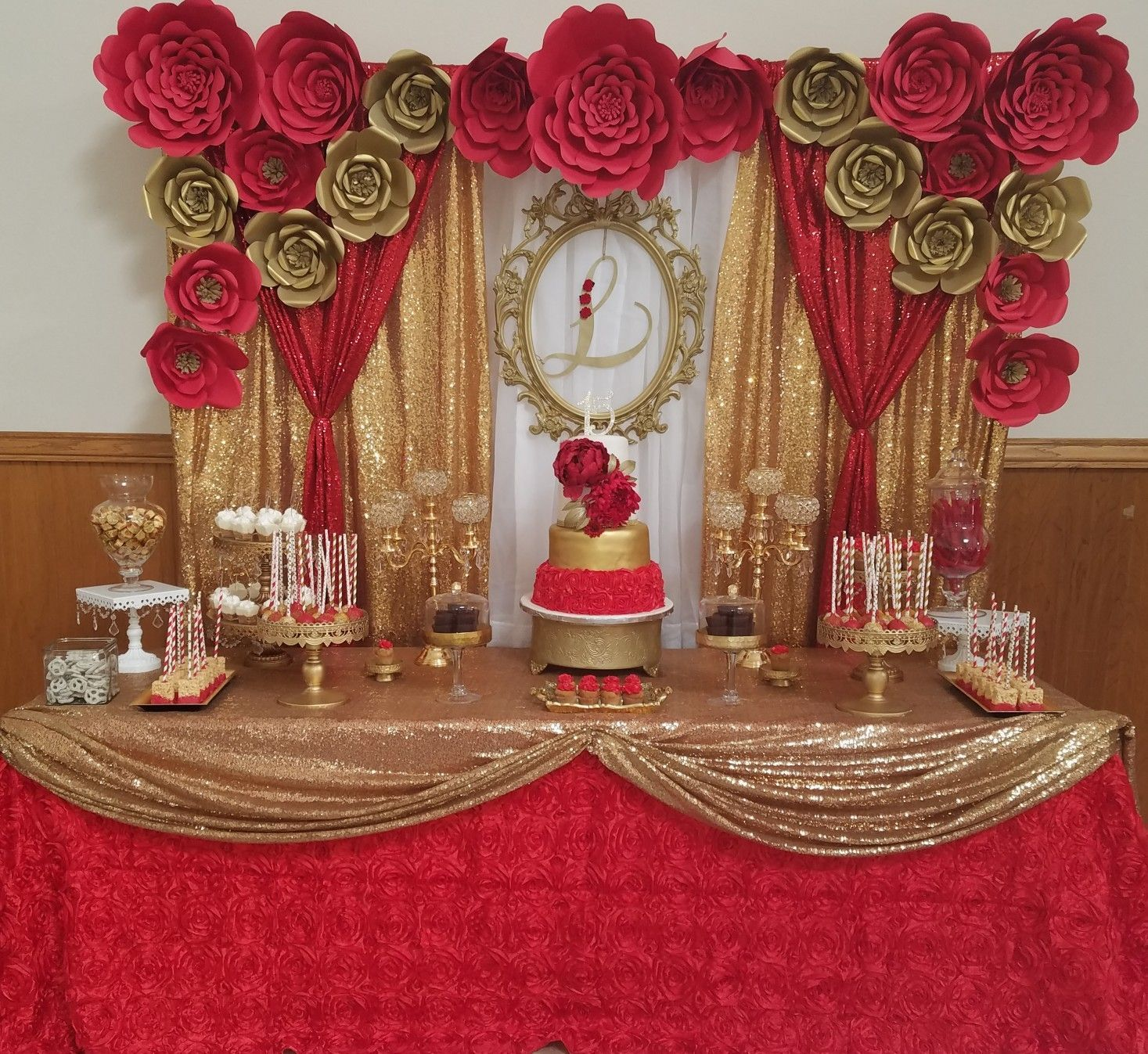 Best 17 Best Red Quinceanera Decorations Wedding Decoration This Month