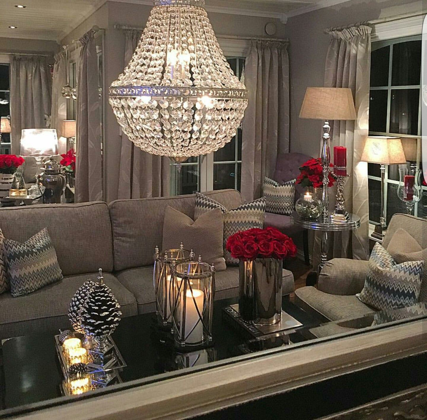 Best What Lovely Room I Love The Red Accents With The This Month