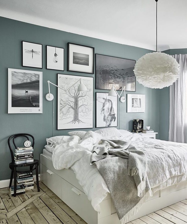 Best Grey Green Walls Future Home Home Bedroom Gray This Month