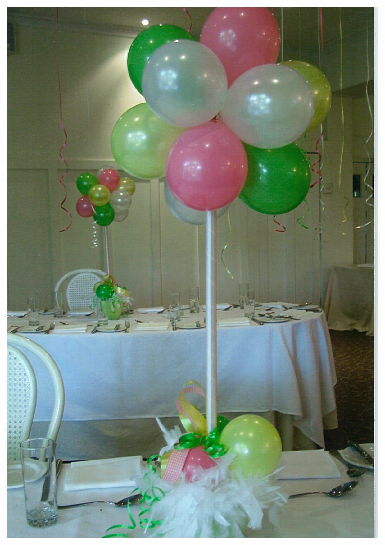 Best Do It Yourself Balloon Decorations Balloon Table This Month