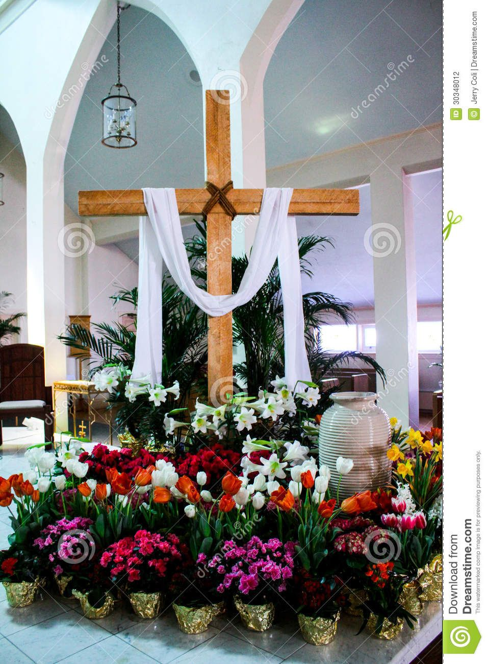 Best Decorating Church With Potted Easter Plants Catholic This Month