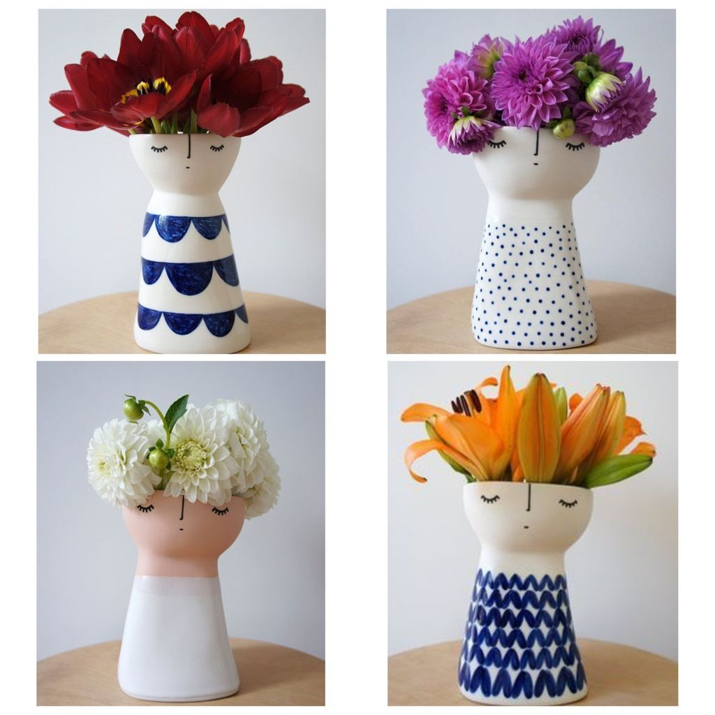 Best Cute Ceramic Vases By Vanessa Bean For The Love Of Cute This Month