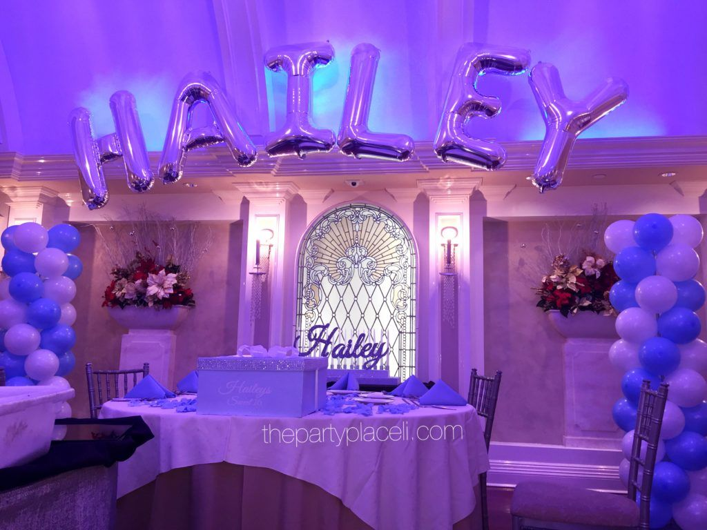 Best Tiffany Themed Sweet 16 Thepartyplaceli Com In 2019 This Month