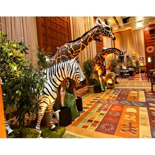 Best West African Themed Party Life Size Animal Props This Month
