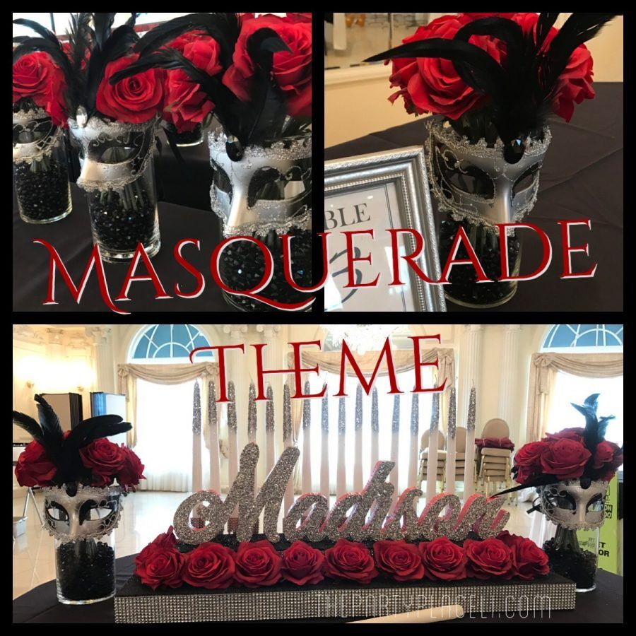 Best Masquerade Theme Sweet 16 The Party Place Li The Party This Month