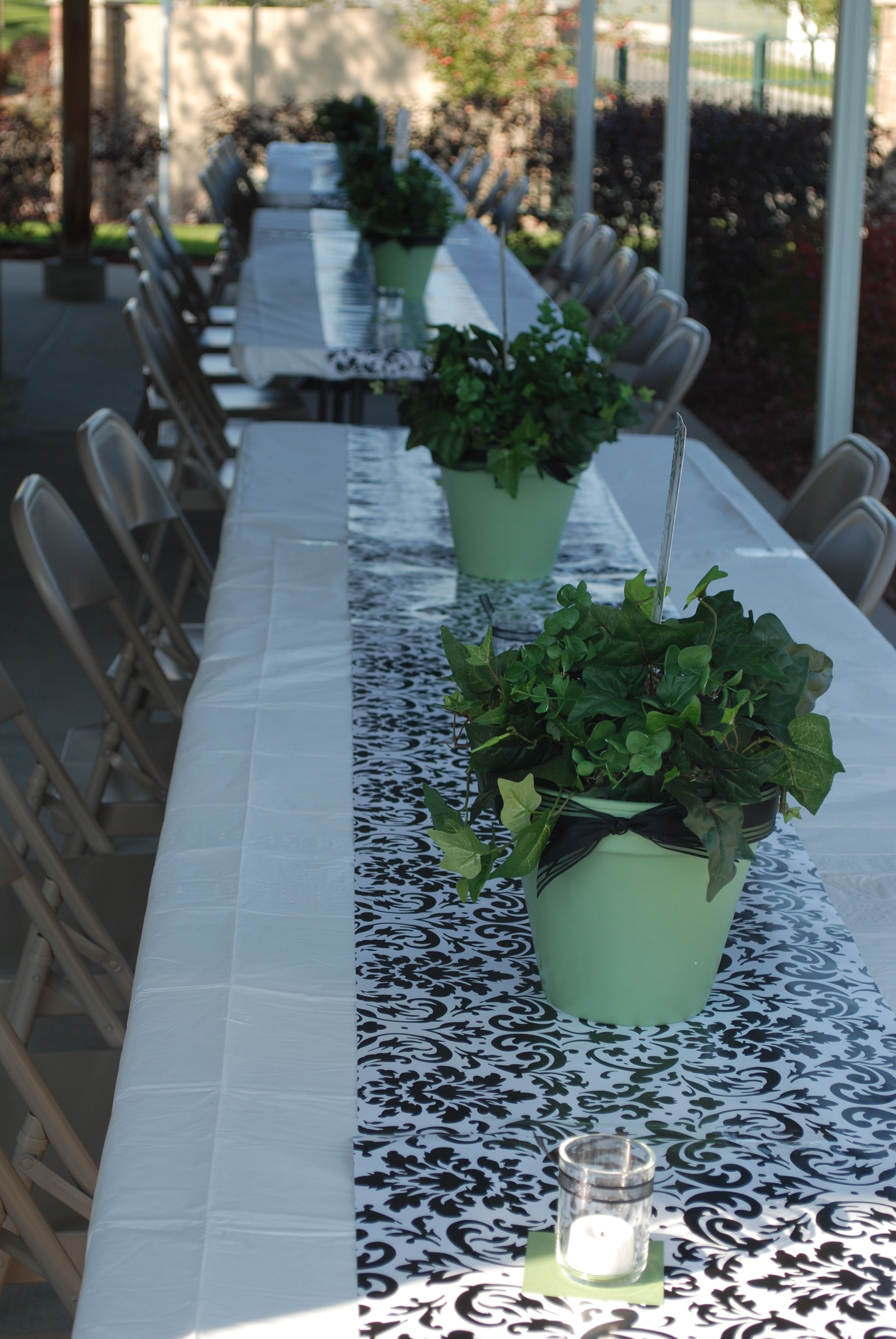 Best Table Decorations From Mom S Party Moms 70Th Birthday This Month