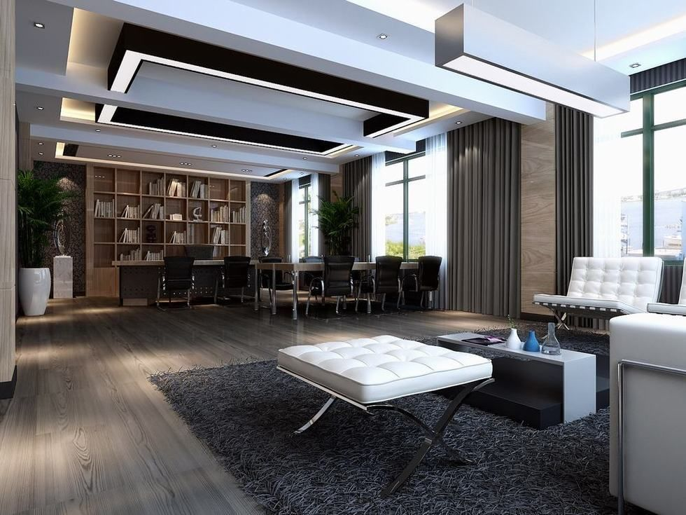Best Stylish Modern Executive Office Interior Design Modern Ceo This Month