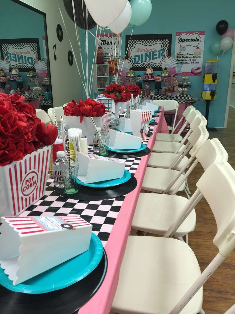 Best 1950 S Sock Hop Birthday Party Ideas In 2019 50 S Party This Month
