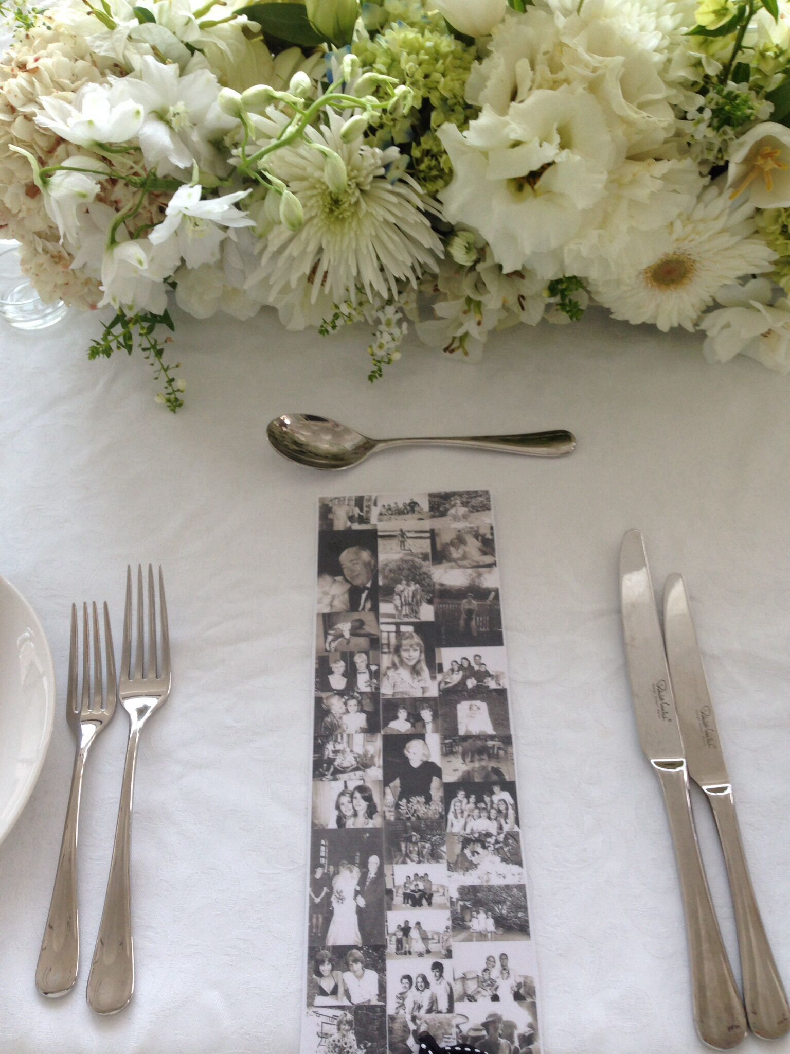 Best White Flowers Table Setting 80Th Mommys Birthday This Month